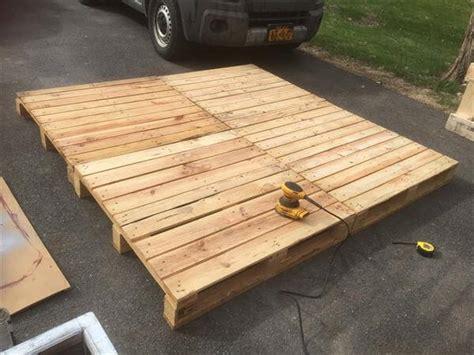 diy pallet platform bed design pallet furniture diy