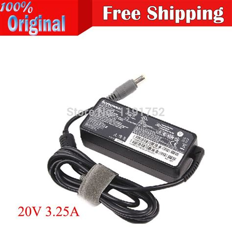 Dijamin Adaptor Charger Laptop Lenovo 20v 3 25a Original 20v 3 25a 65w lenovo laptop adapter 42t4416 lenovo tthinkpad x60 x61 t61 x200 x201 x220 x230