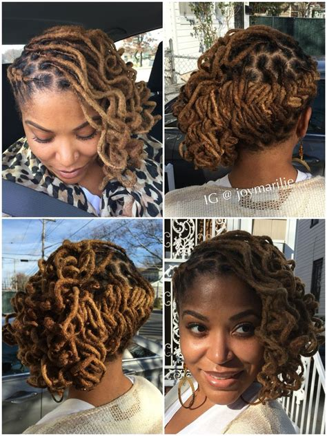 asymetric dredlocks haircut 205 best images about my loc styles and experiments on