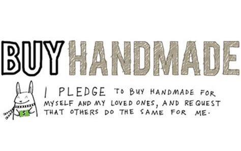 Handmade Means - 20 reasons to buy made this