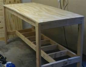 diy garage work bench how to build a garage workbench free plans woodguides