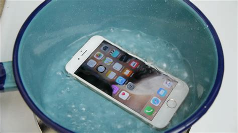 iphone fan in iphone 6s boiling water test will it survive