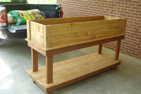 Herb Garden Woodworking Plans Woodproject Herb Planter Box Plans