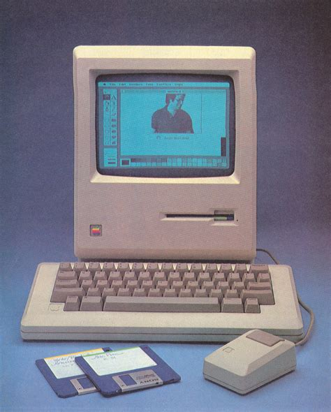 Laptop Apple Macintosh attached gt computer history gt macintosh preview in byte