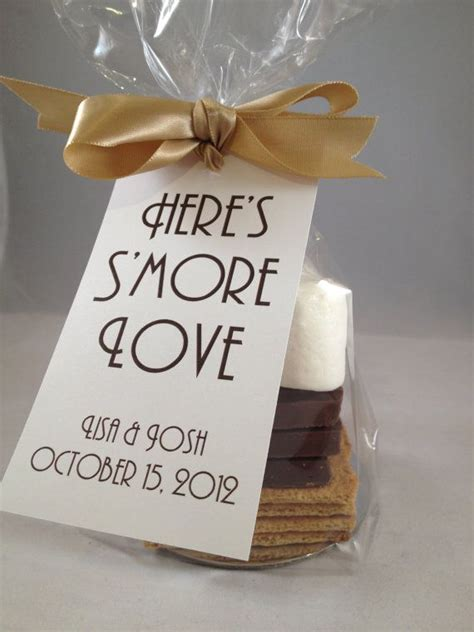 wedding favor ideas for parents s more tags by modernsoiree on etsy 3 00 pavillion