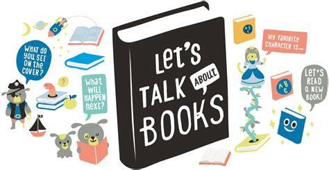 talk books talk read sing talking is teaching