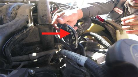 easy thermostat bypass hose replacement ford explorer