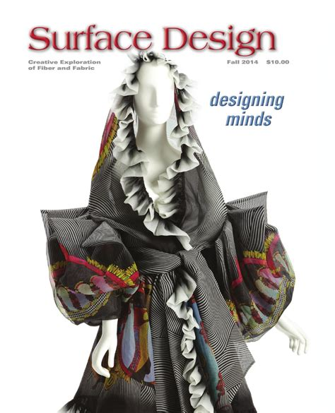 surface design journal back issues surface design journal fall 2014 sle issue by