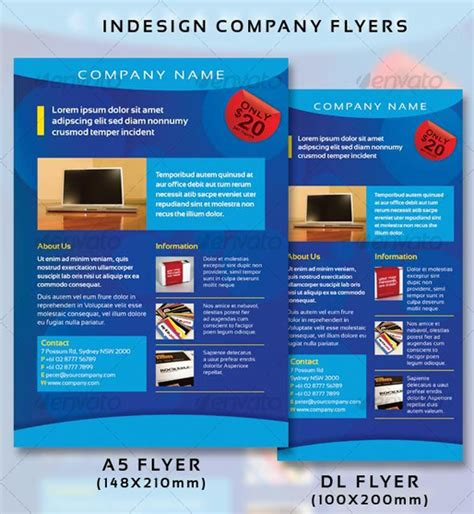 design flyer with indesign 16 fantastic indesign flyer templates