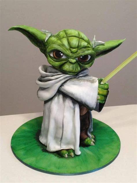Yoda Cake Nerd Noms Pinterest Yoda Cake Cakes And Photos Yoda Cake Template