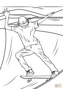 skateboard r coloring page free printable coloring pages