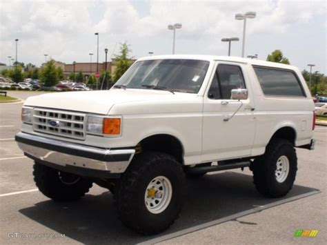 white bronco car 1989 white ford bronco 4x4 33549305 photo 3 gtcarlot