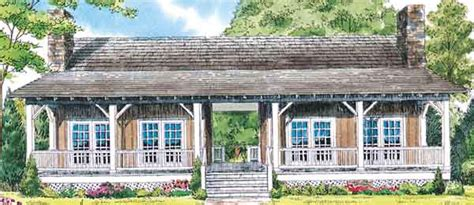 Whispering Pines William H Phillips Southern Living Dogtrot House Plans Southern Living