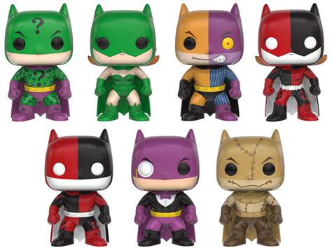 Funko Pop Batman Two Impopster funko announces pop heroes batman impopsters