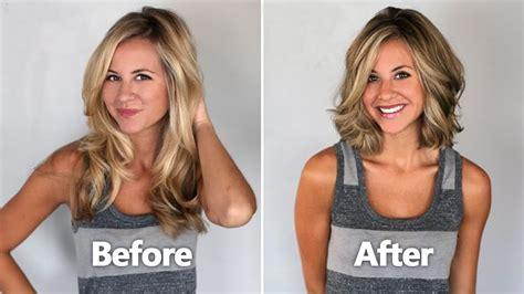before and after haircuts amazing women haircut styles before and after 2016 youtube