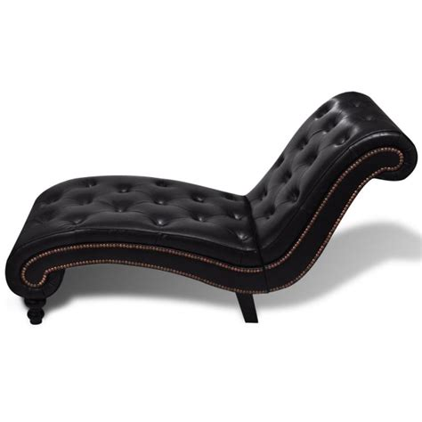 Amazon Armchairs Pu Leather Chesterfield Scroll Chaise Lounge Brown Buy