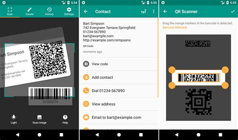 best qr scanner android best qr code reader android apps to