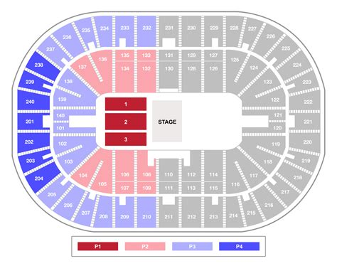 bank arena seating chart u s bank arena legends of southern hip hop