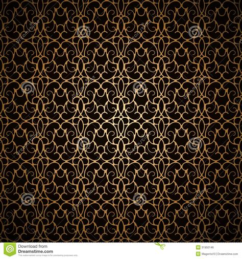 gold pattern on black background black and gold pattern www imgkid com the image kid