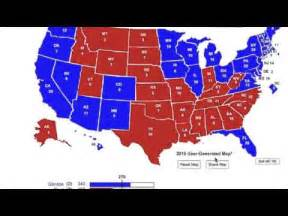 2016 Presidential Election Predictions Map by Presidential Election 2016 Predictions Youtube