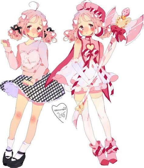 Anime Art Site 1341 Best Images About Magical Girls On Pinterest
