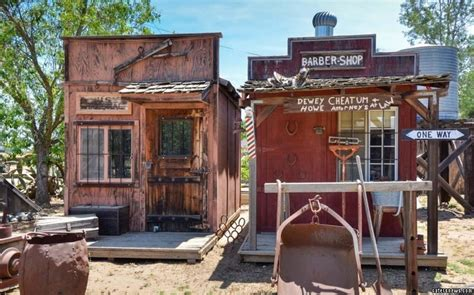 whole towns for sale whole wild west village with saloon and jail for sale