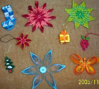 10 Pcs Gantungan Kartu Natal Hiasan Pohon Dekorasi Card craftmania november 2005