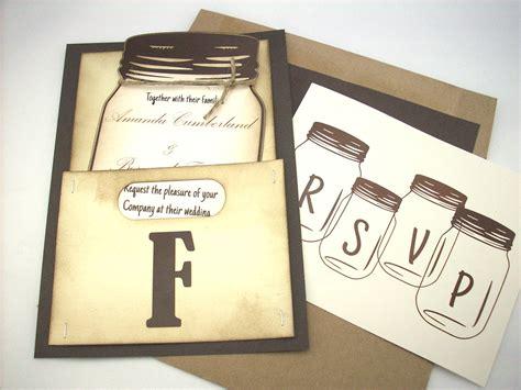 jar wedding invitation personalized by scrappingoodtimes