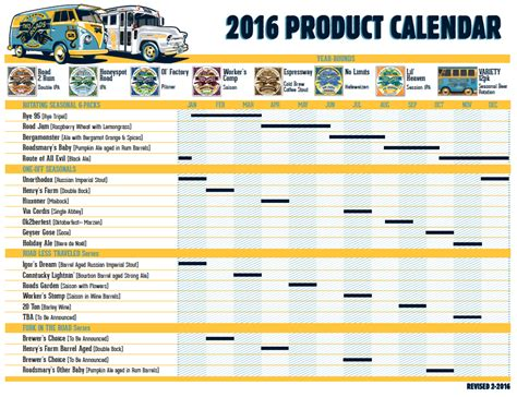 Release Calendar Two Roads Brewing Co Stratford Ct