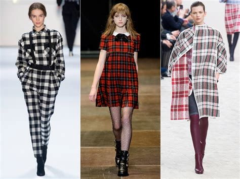 Winter Fashion Trends How To Wear Plaid by 6 Plaid Looks Inspired By Fall Runway Style