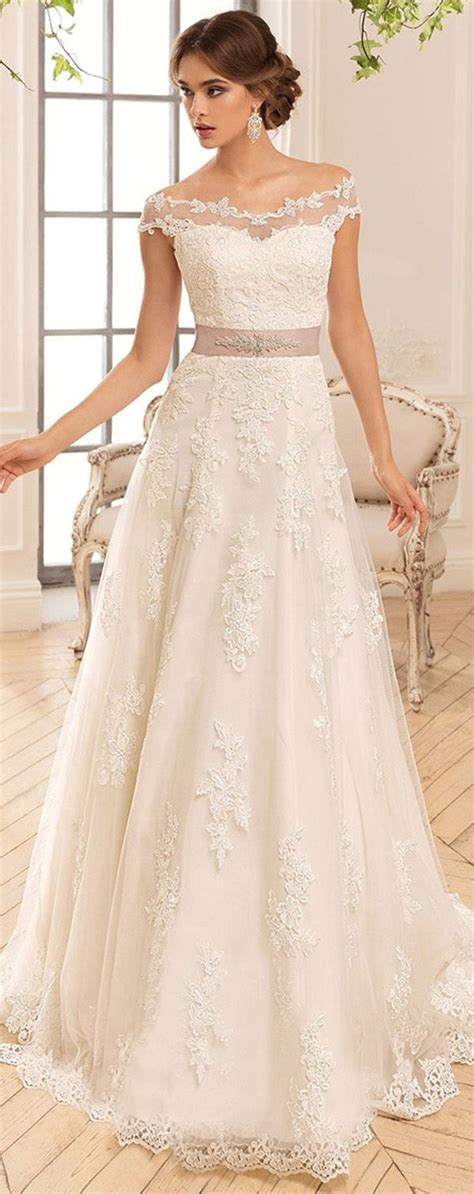 The Shoulder Lace Dress White the 25 best shoulder wedding dress ideas on