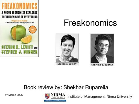 freakonomics book report ppt freakonomics powerpoint presentation id 706213