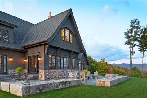 mountain home with great views traditional home