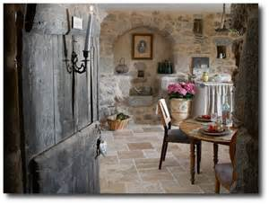 Vintage French Home Decor by Get The Provence Look By Installing Stone Floors