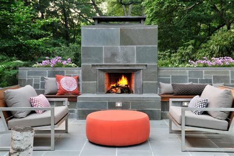 pictures  outdoor fireplaces hgtv
