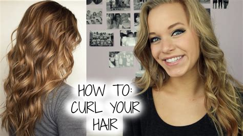 how to curl your hair the right way