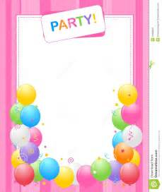 birthday invitation backgrounds cloudinvitation com