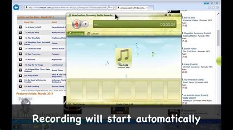 download mp3 from amazon music audio recording software amazon mp3 recorder how to