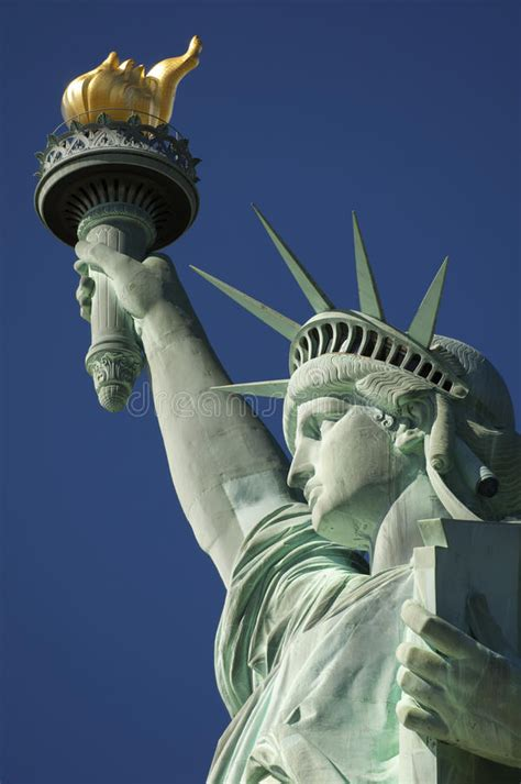 Statue Of Liberty Torch L by Statue Of Liberty Up Torch And Crown Stock Image