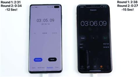 เปร ยบเท ยบความเร วเป ด ป ดแอประหว าง galaxy s10 ก บ iphone xs max iphonemod