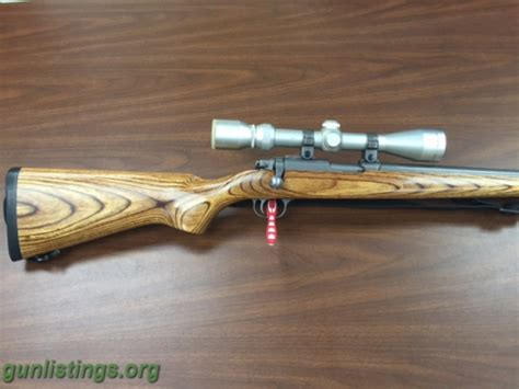 Ruger stainless laminated 77 22 22 mag in des moines iowa gun