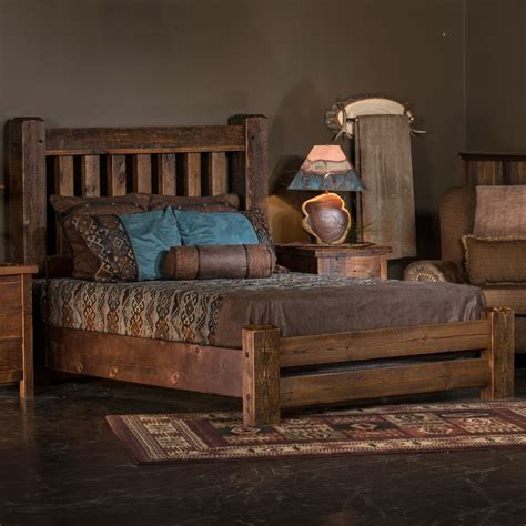 Timber Frame Bed Sawmill Reclaimed Barnwood Bed By Tim Woodland Creek S Exclusive Barnwood Bed
