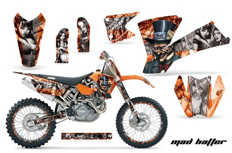 Ktm Decals 2001 2004 Sx 2003 2004 Exc Ktm Motocross Graphic Decal