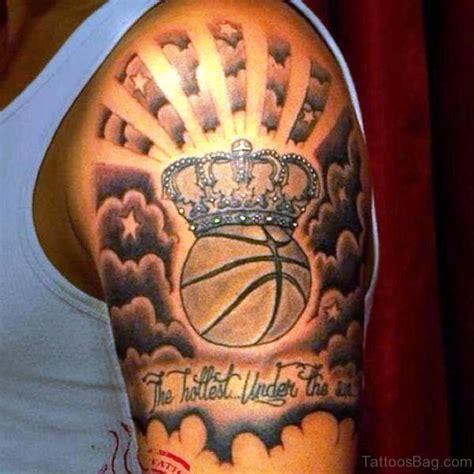 basketball tattoo 67 superb basketball tattoos on shoulder