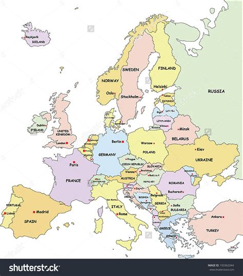 printable map europe countries capitals europe map and capitals scrapsofme me