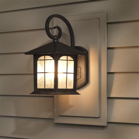mounting outdoor lights outdoor lighting mounting blocks vinyl siding lights how