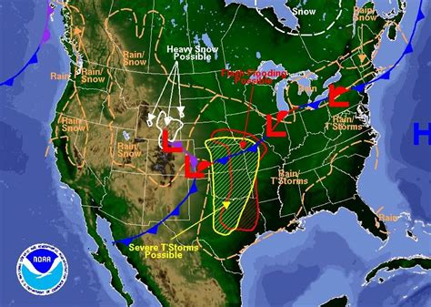 us weather map midwest plains states prepare for twisters hail nbc news