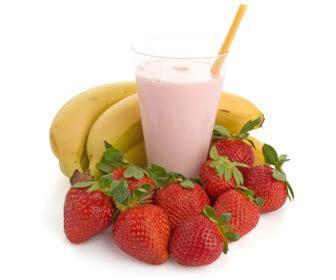 Milk Mi Banana Strawberry shake of the day wellness