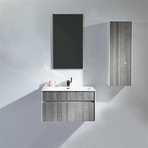 grey bathroom sink unit lusso stone ash grey designer vanity unit 70 off