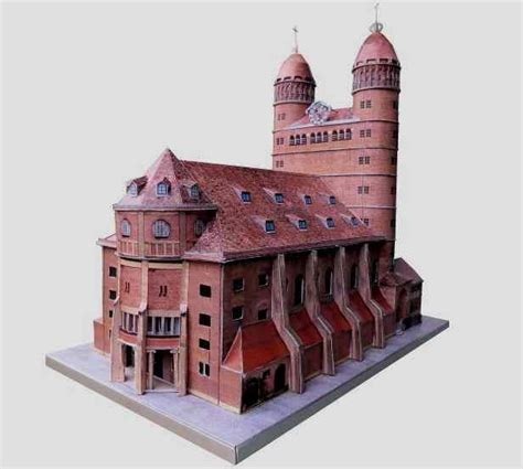 Papercraft Architecture - 371 best images about paper models on